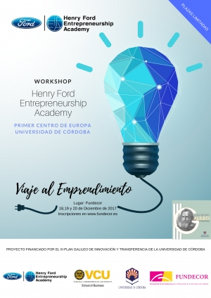 Workshop Viaje al Emprendimiento: Henry Ford Entrepreneurship Academy