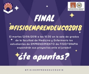 Final #FisioEmprendeUCO2018